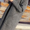 TE9653ATSS New style fashion long knitting cardigan coat