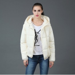 TE6667YYM Winter thicken casual sport style cotton-padded down coat with cap
