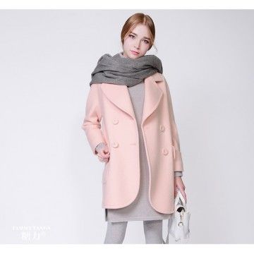 TE9636LLYG Europe fashion lapel woolen coat