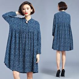 TE1551XEKJ New style shivering large size chiffon dress