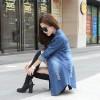 TE1810DPHM Spring new style casual long denim shirt
