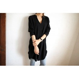 TE2176ALFS Spring fashion comfortable loose joker long t-shirt