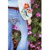 TE3131JJOM Spring fashion embroidery sleeve oblique zipper tops
