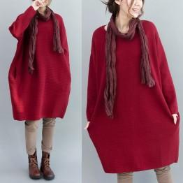 TE7589HSJP Large size loose casual comfortable maternity dress