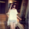 TE9380ATSS Spring fashion loose tassel pullover tops
