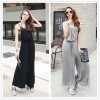 TE2206ALFS Fashion casual comfortable loose wide leg jumpsuit