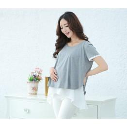 TE2591YZFZ Hot sale fashion maternity shirt