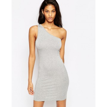 TE2722XYD Europe fashion sexy one shoulder tight hip dress