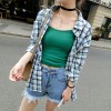 TE8919HMFS Korean fashion joker gallus tops