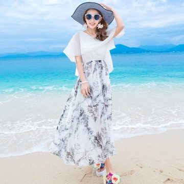 TE9851MSJ New style bohemia fashion temperament slim maxi dress