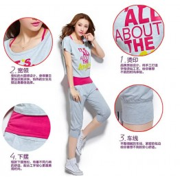 TE9887JRYL Casual Three Pieces Fashion Sports Suit