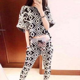 TE538NRX Star style geometry pattern suit