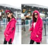 TE7670XHHB Casual skull print sleeve pocket fleece coat