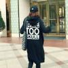 TE9831AYY Korean fashion letters printing back long zipper up hoodies black