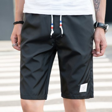 Summer shorts men's pants trousers loose 5 points pants men's trousers summer pants 6037 #