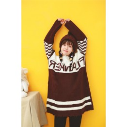 6044 autumn and winter Korean loose sweater