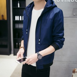 702 new men's baseball collar trend  casual jacket