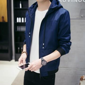 S real shot 2017 autumn and winter new men's baseball collar trend Korean casual men's jacket jacket men 702