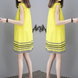 3941  thin doll summer long sleeveless dress