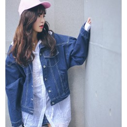 8751 Korean denim short jacket