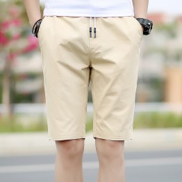 Summer casual shorts male Korean version of the Slim trend pants summer simple wild loose pants 088 #