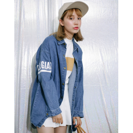 8722 # 2017 new denim jacket
