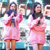 Rainbow Star embroidery loose Korean version of the peach pink in the long paragraph hedge sweater