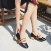 Mary Jane shoes Korean version of the word buckle Baotou sandals female summer single shoes