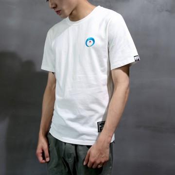 2017 summer men's shirt short-sleeved T-shirt simple men's half-sleeved shirt Hong Kong style T-shirt men 1009