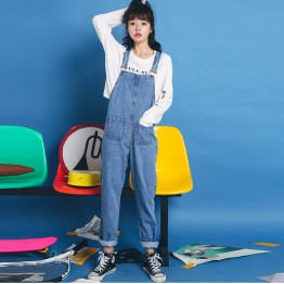 3341 Korean straps good quality jeans