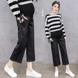6630 regnant women wide leg pants  jeans