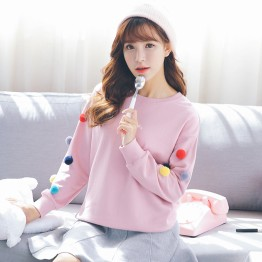 8806 new cute girl sweatshirt