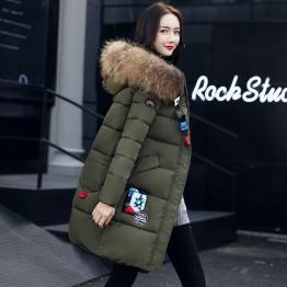 3518 casual long fashion down jacket