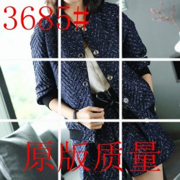 3685 temperament jacket with retro fashion shorts