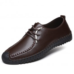 A008 new men's business leather shoes