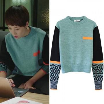 New sweater Korea loose loose knot jacket sweater women