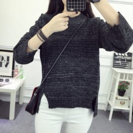 8986 autumn and winter Korean loose sweater