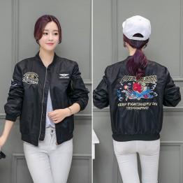 9627 Yokosuka embroidery couple baseball air force pilot jacket