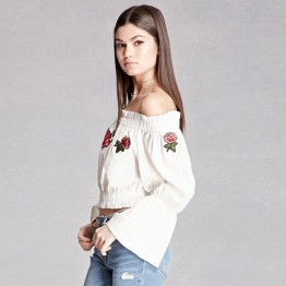 8607 hot sale new boat neck shirt