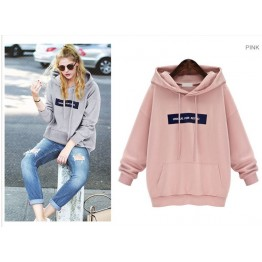 5031 Autumn hooded Korean fashion students long sleev woolen sweatshirt