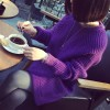 8807 spring and autumn fashion temperament loose long sweater