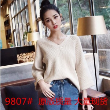 Fall 2017 new loose students cute trend sweater woman
