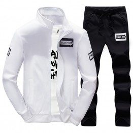 EK809 trendy Korean fashion men's tracksuit