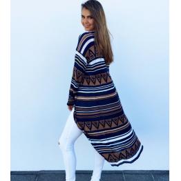 2084 hot sale pattern printed women's thin jacket