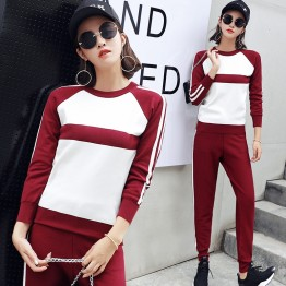 6125 fashion Korean long sleeve casual tracksuit