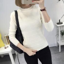 8071 wave pattern sweater
