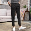 Imitation flax men's casual pants four seasons thin men's Slim pants pants pants male casual pants men's long pants