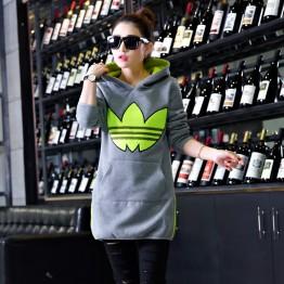 5338 thick woolen hooded sweatshirt