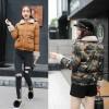 Winter Korean fashion short down jacket camouflage thick coat 8639