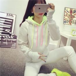 2135 wool lining hooded sweatshirt